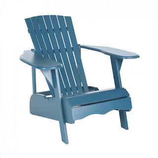 Safavieh Mopani Adirondack chair from Decor Market - found on Hello Lovely Studio