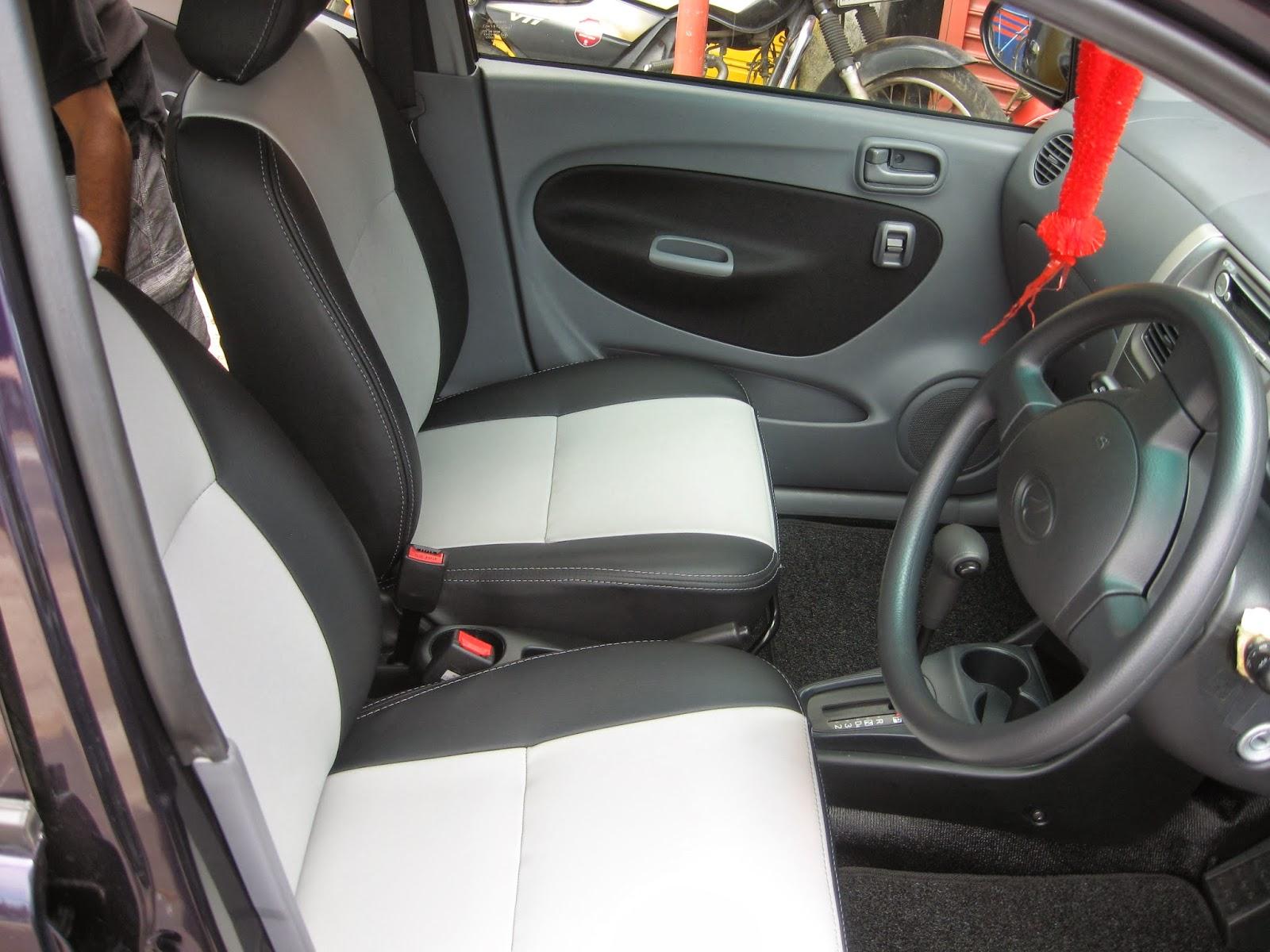 Viva Elite Leather Seat Covers Two Tone Design Vip Car Interiors