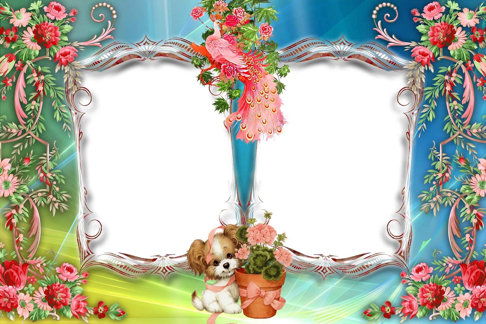 Photo Frames Download. floral frame 3 photo free download. photobook ...