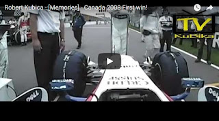 Robert Kubica - [Memories] - Canada 2008 First win!