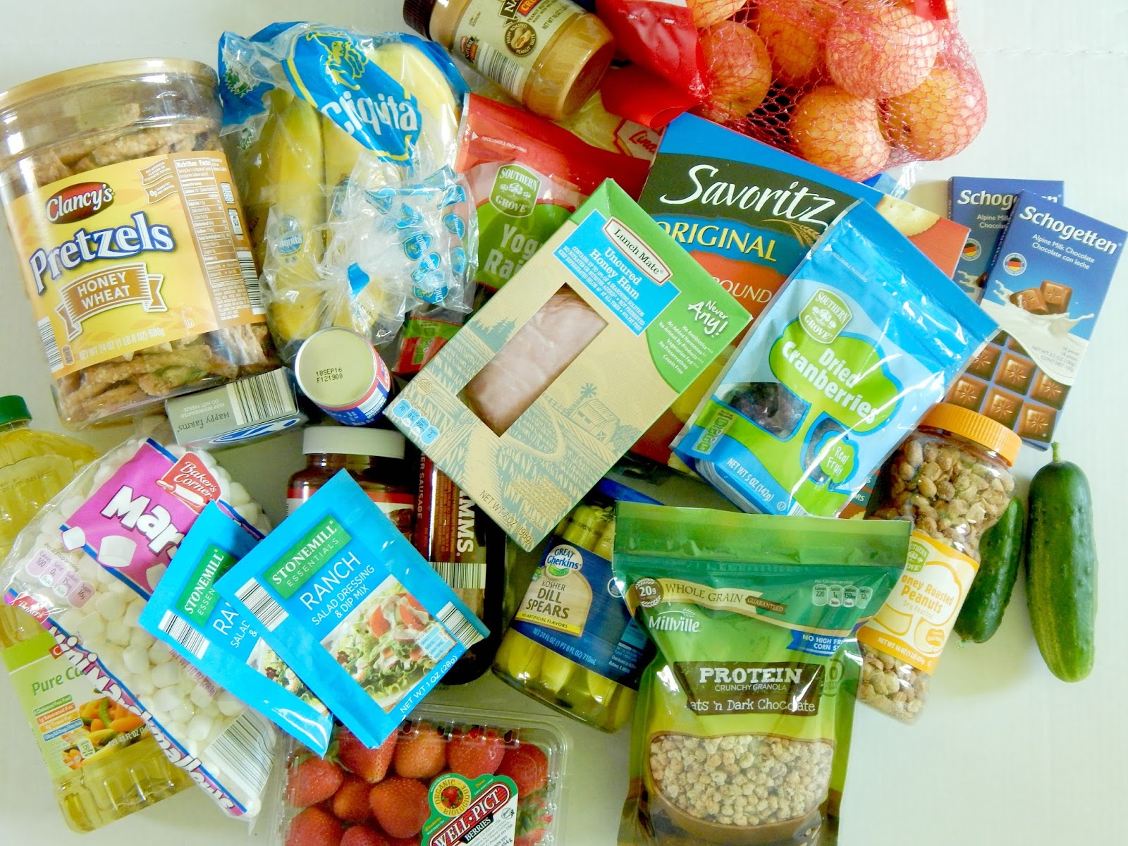 Ally's Sweet & Savory Eats: Top 10 Back-to-School Snacks from ALDI