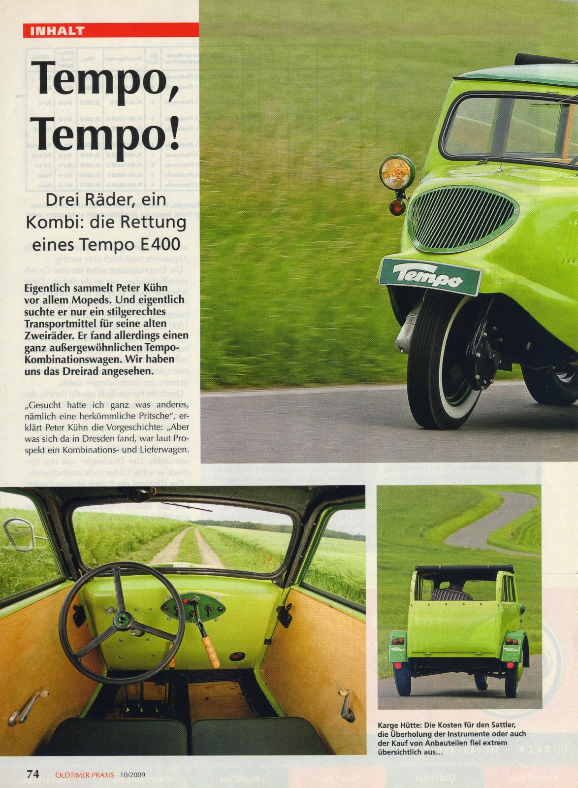 Project Tempo January 2013