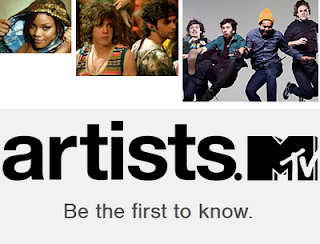 artists.MTV graphic from Music 3.0 blog