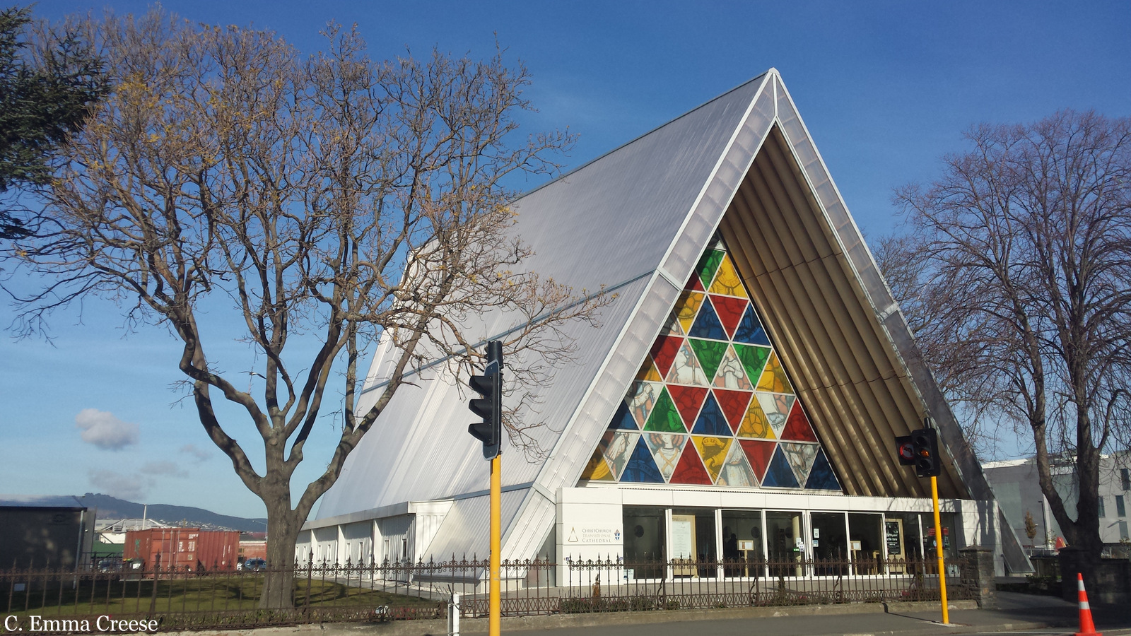 Cardboard Cathedral 10 things to do in Christchurch New Zealand