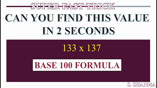 SUPER FAST CALCULATION IN MATHEMATICS