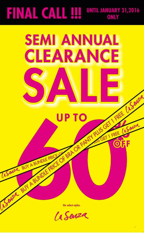 68784c02d2b2 Final call on the LA SENZA SEMI ANNUAL CLEARANCE SALE this weekend! Buy a  bundle price of Bra or Panty and you GET ONE FREE. Check it out in all La  Senza ...