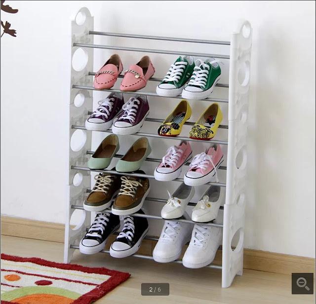 model rak sepatu paling unik minimalis dan modern