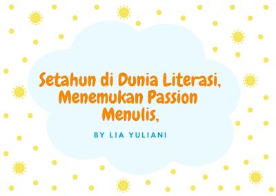 Menulis adalah passion