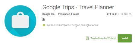 Mengatur Rencana Liburan dengan Google Trips