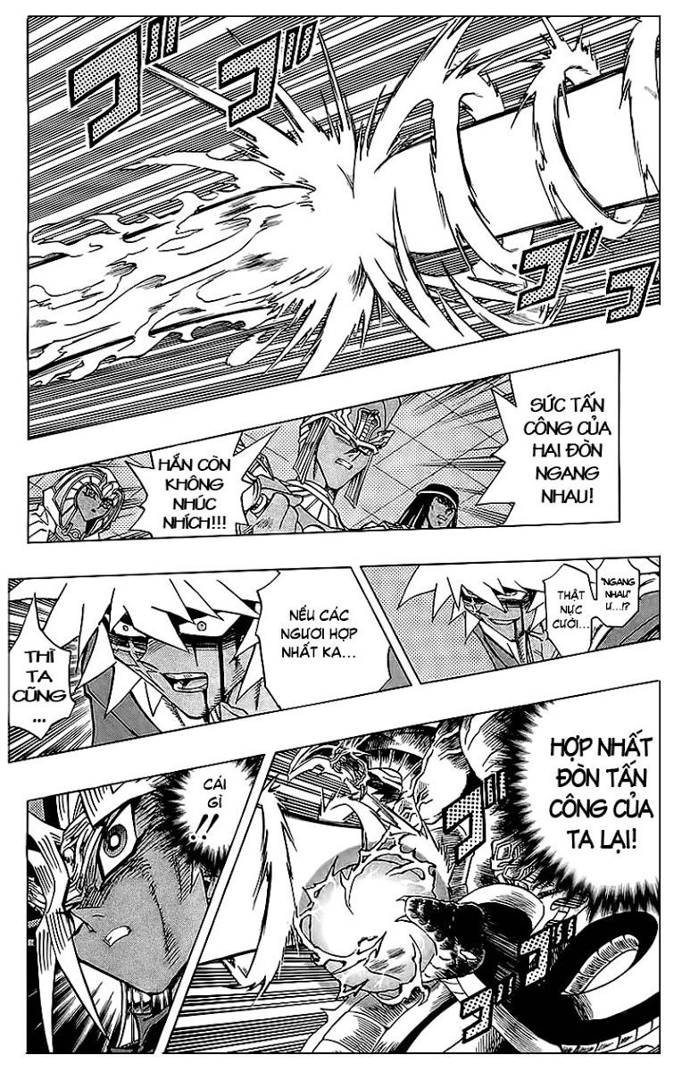 YUGI-OH! chap 318 - cùng nhau chống lại bóng tối trang 8
