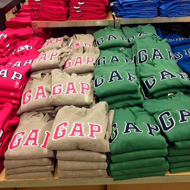 Onde encontrar lojas da Gap em Miami
