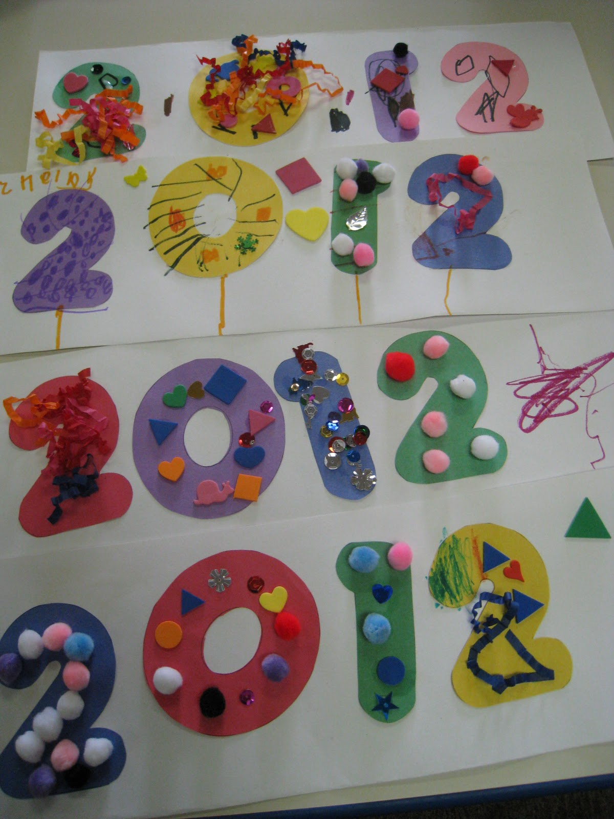 Mrs Russell S Class New Year Craft And 2 Giveaways