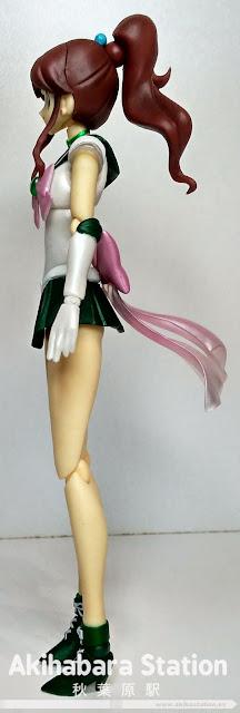 S.H.Figuarts Super Sailor Jupiter de Sailor Moon - Tamashii Nations