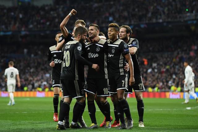 Ajax Dusan Tadic Vs Real Madrid