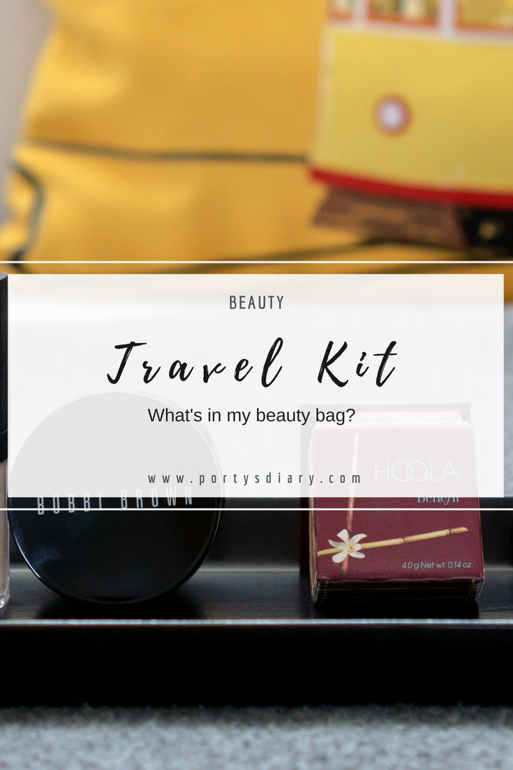 Beauty | What's in my travel makeup bag. Products I use for a full face, yet simple.