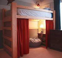 ahorrar espacio en cuarto para niños