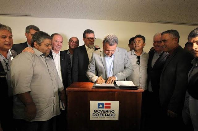 Autorizadas pelo governador Rui Costa, essas obras serão executadas pela Conder (Foto: Paula Fróes/GOVBA)