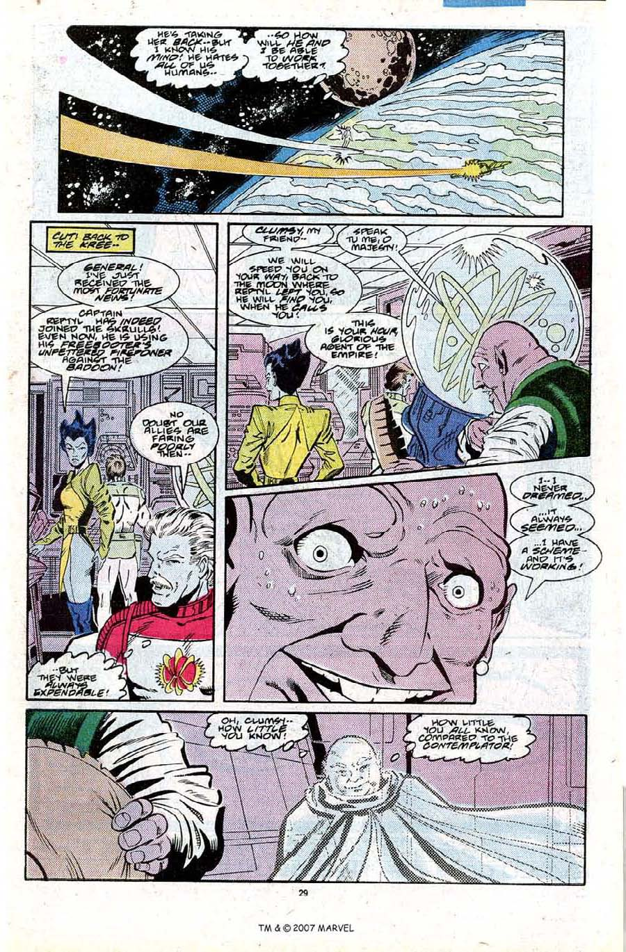 Read online Silver Surfer (1987) comic -  Issue #27 - 31