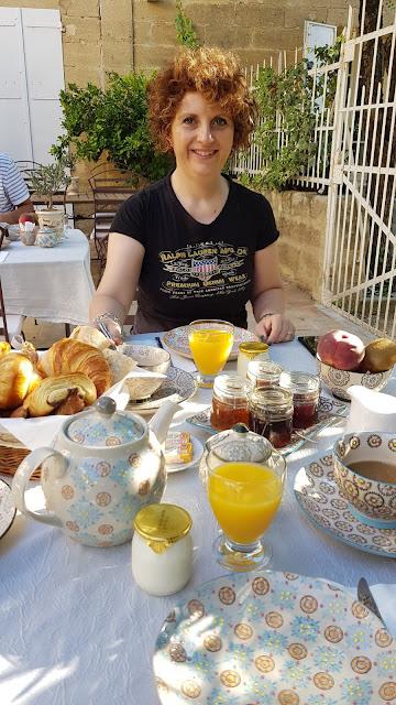 Maison de Léonie-colazione