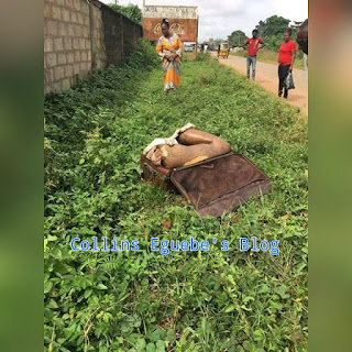 An headless female body found in Benin City