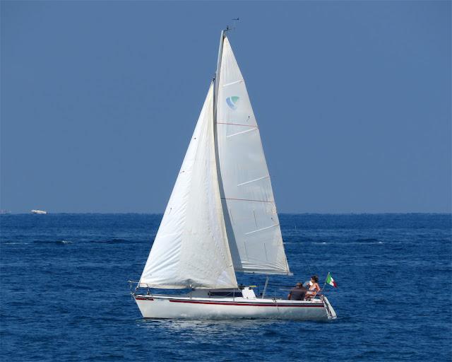 Sailing in June, Terrazza Mascagni, Livorno