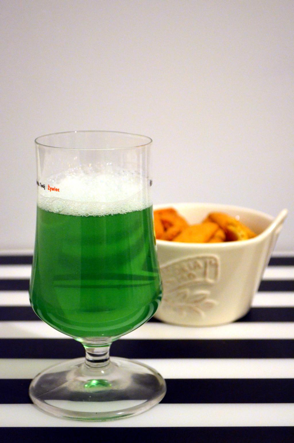 zielone-piwo Zielone piwo na Św. Patryka