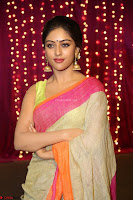 Anu Emmanuel sizzles in khaki saree at Zee Telugu Apsara Awards 2017 12.JPG