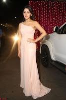 Sayesha Spicy Half Shoulder Cream Gown at Zee Telugu Apsara Awards 2017 12.JPG