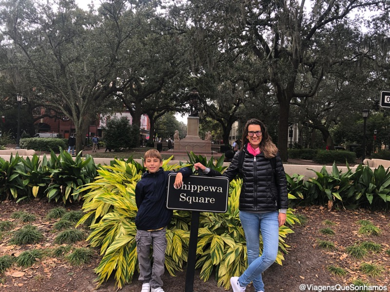Forrest Gump em Savannah