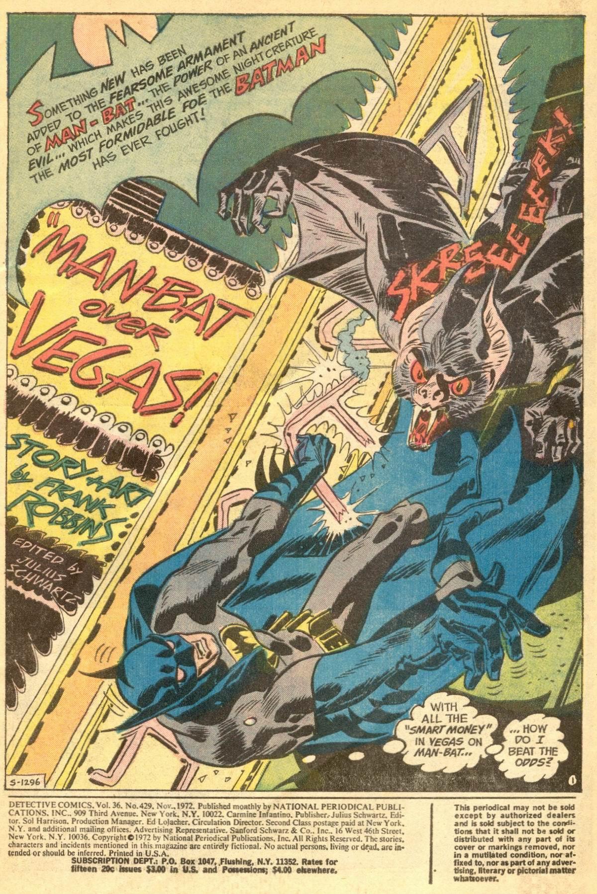 Detective Comics (1937) 429 Page 2