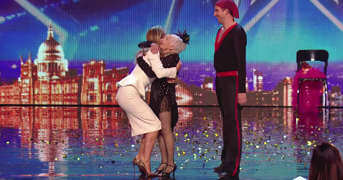 80-Year-Old Lady Stuns The Crowd On Britain's Got Talent With Her Incredible Salsa Dance