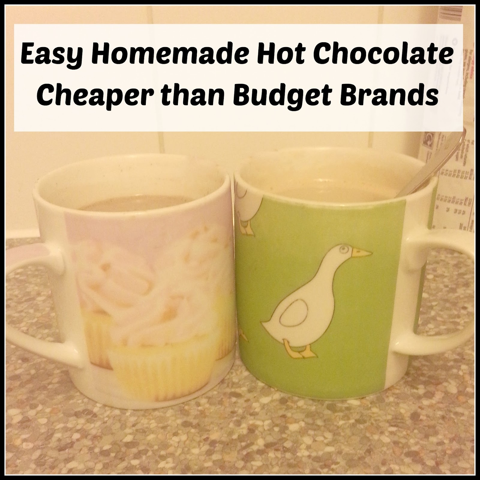 Why Pay More For Hot Chocolate The Parent Game