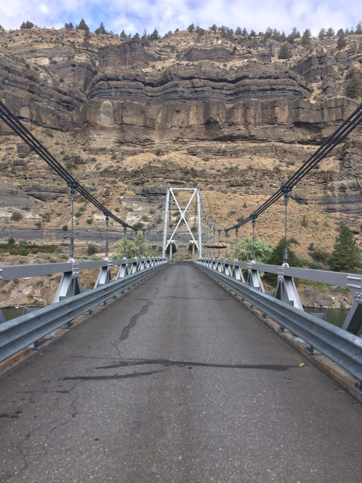 The Descent Into The Lake Billy Chinook Canyon Was Just
