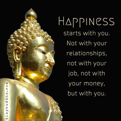 Buddha Sayings On Happiness