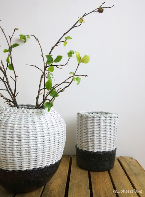 papierowa wiklina, pulpa, recykling, design