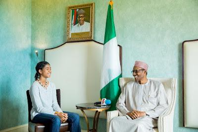 Nigerian President Buhari in US
