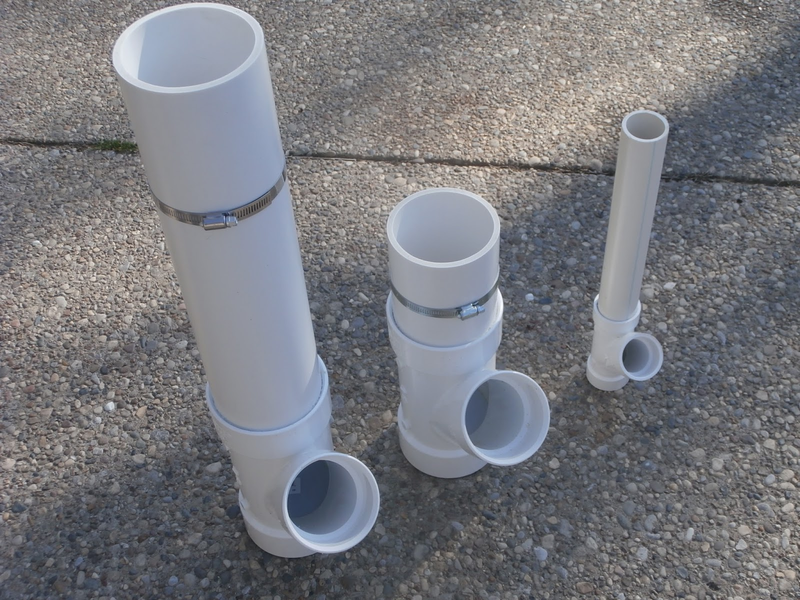 for How to make pvc pipe birds