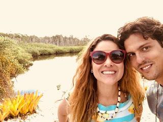 Rafael Infante é casado com a atriz Tatiana Novais — Foto: Reprodução/Instagram