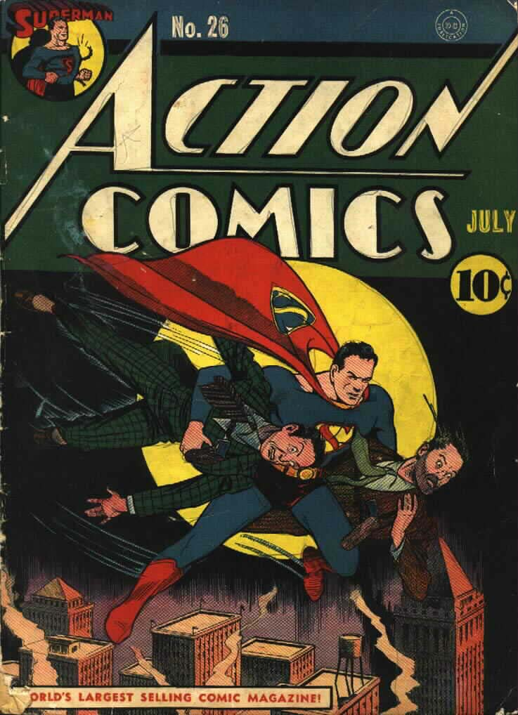 Action Comics (1938) 26 Page 1
