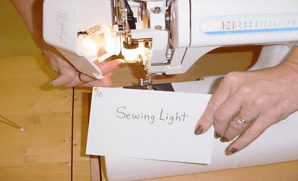 Sewing Light sewing machine