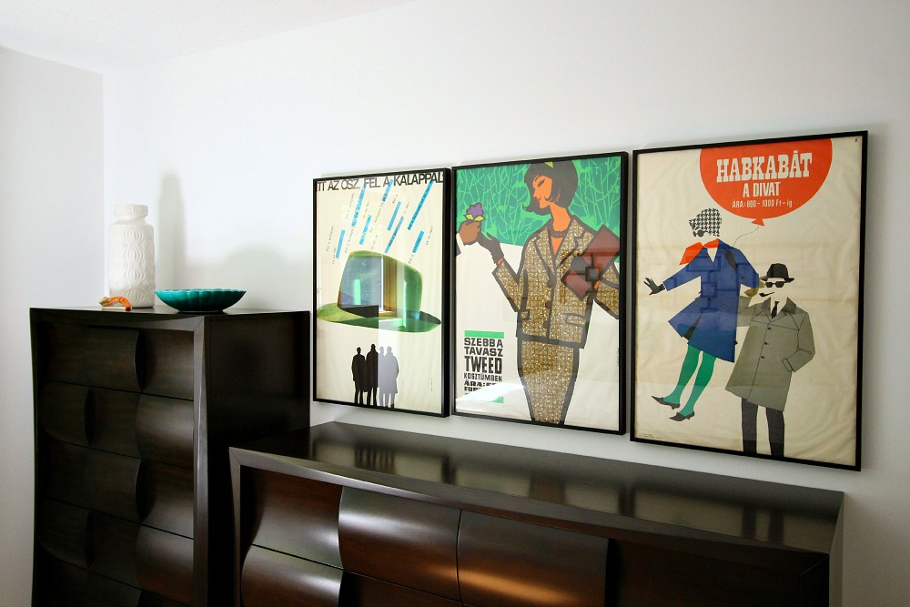 Vintage posters as art