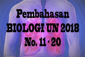 Pembahasan UN Biologi SMA Tahun 2018