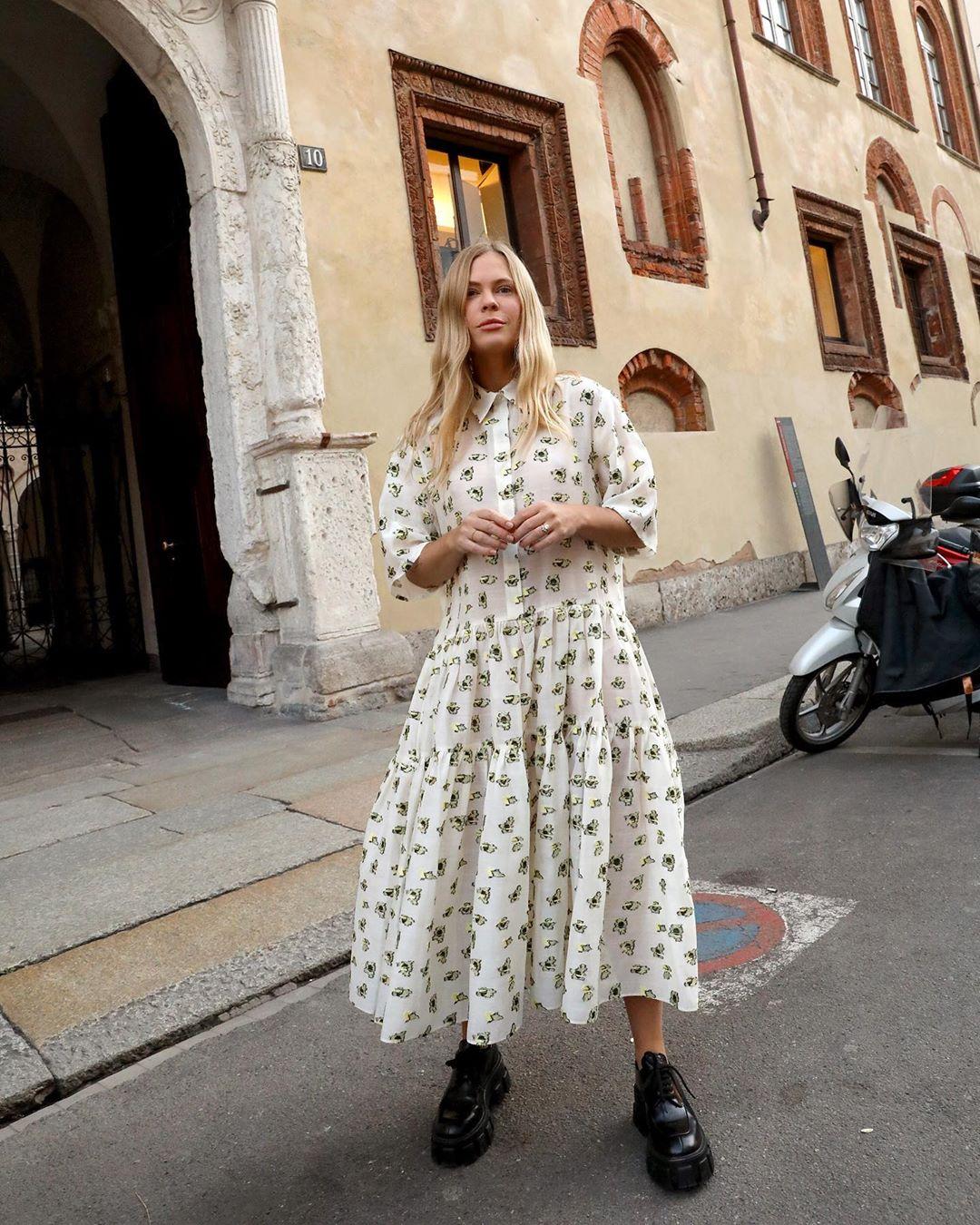 The Oversized, Ultra-Feminine Dresses We're Eyeing for Summer