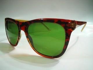 Diseño de lentes o gafas retro