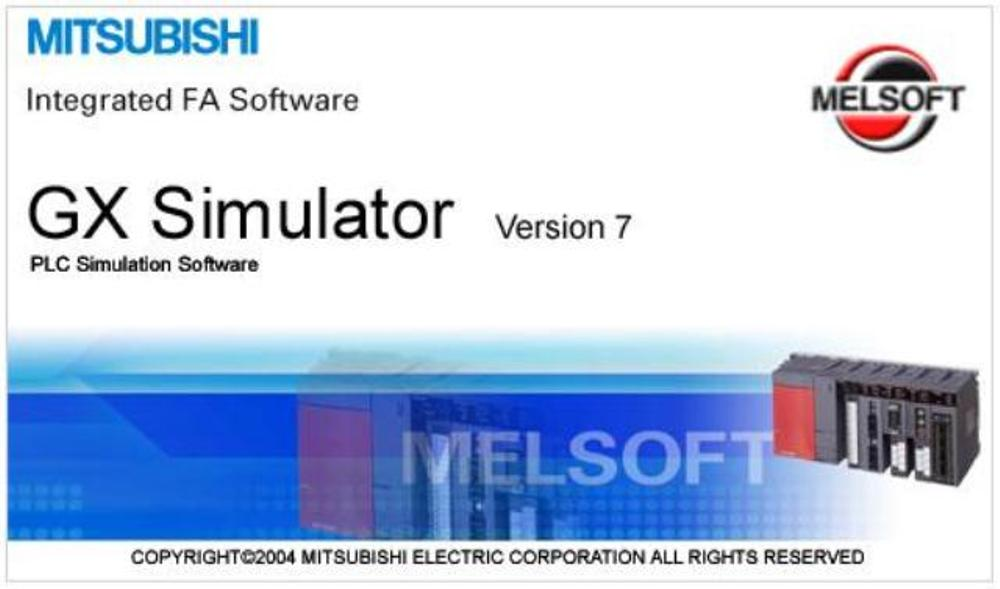 GX SIMULATOR MITSUBISHI MEGA NZ ~ PLC SOFTWARE