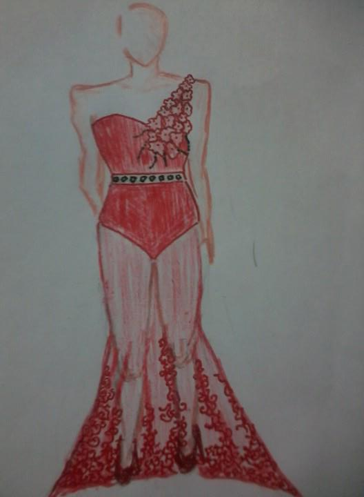 3c9e07b6ff9 Because I style them...  ) Don t you love it  Keziah Eda Isito is wearing a  red dress that I redesign. This dress was originally design by a known  Cebuano ...