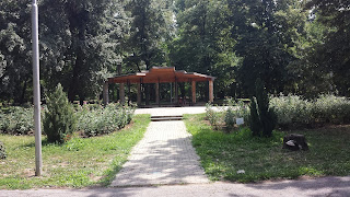 Sheltered Area, SIt, Yambol, Yambol City Park,