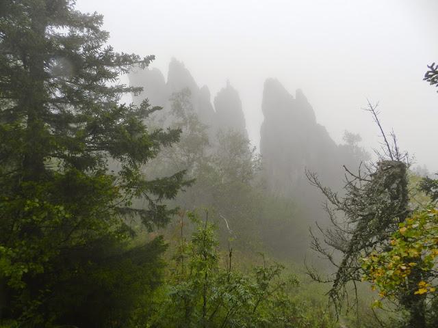 Национальный парк Таганай Перья Двуглавой сопки