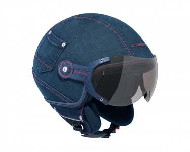 casco, moto, tunear, customizar, tela vaquera, manualidades, diys