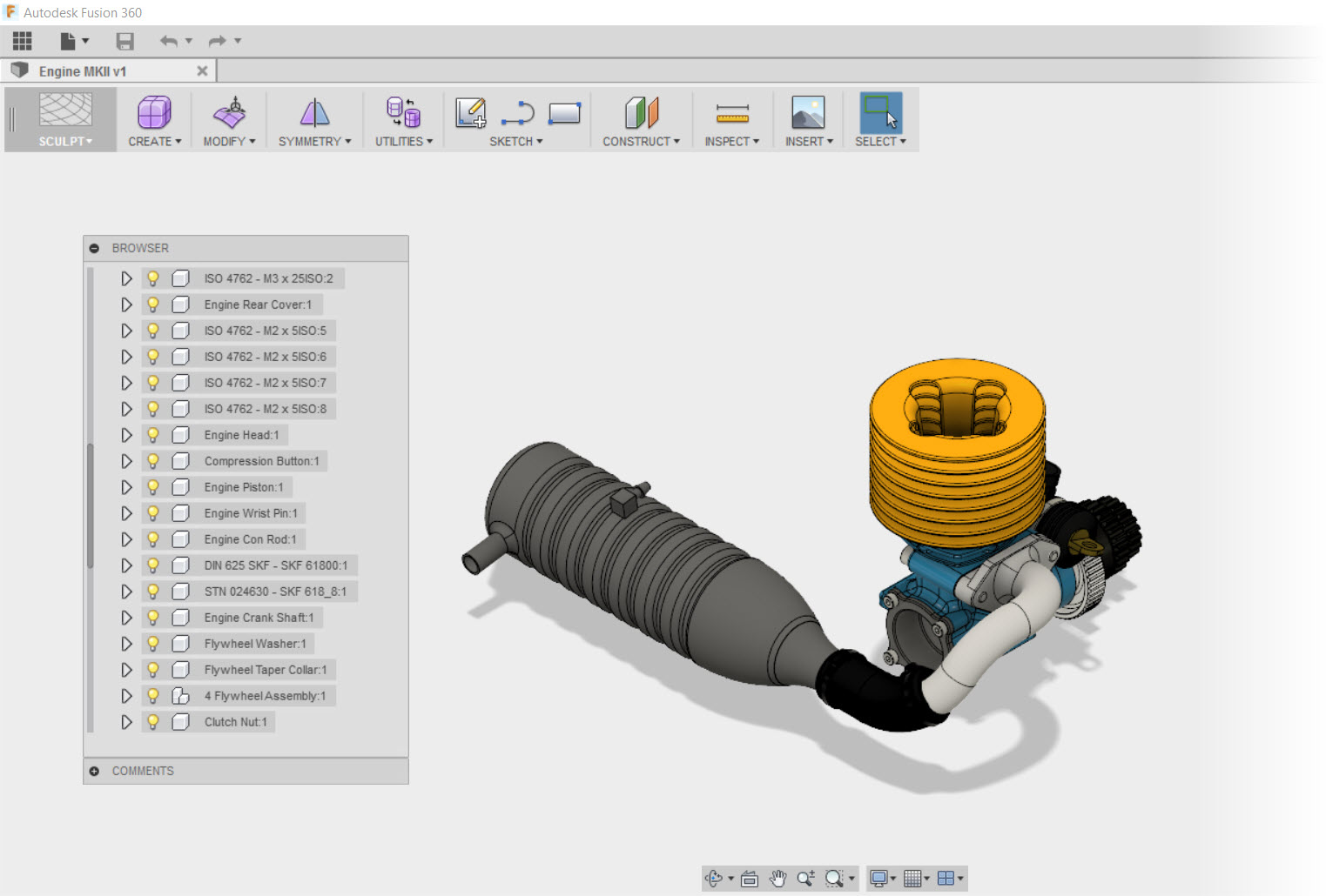 Fusion 360 as a Viewer - Another Step in the Learning